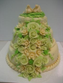 Svatební zelený