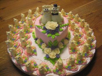 Cake with cats