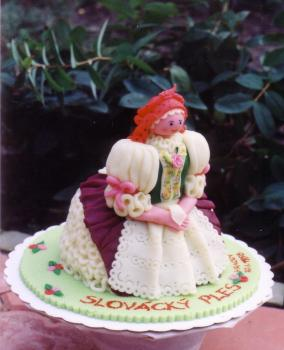 Folk costume - Vracov